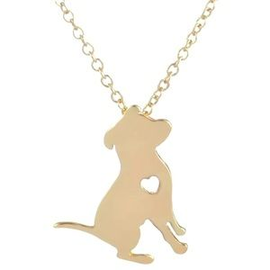 Jewelry - 🌷SALE🌷14k Gold Dog Lover Necklace