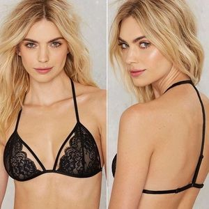 Urban Outfitters Other - New💓 Black Lace Sexy Bralette