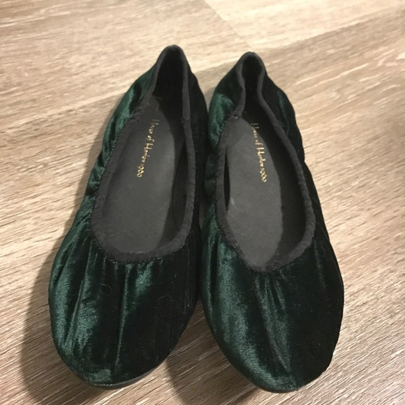 77ec2f37418 House of Harlow 1960 Shoes - House of Harlow 1960 Baron velvet ballet flats