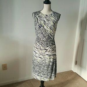 NIC + ZOE Dresses & Skirts - NWT Nic + Zoe Green Oasis Print Twist Dress