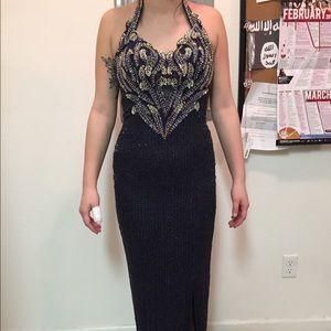 Plum Purple Prom Dress