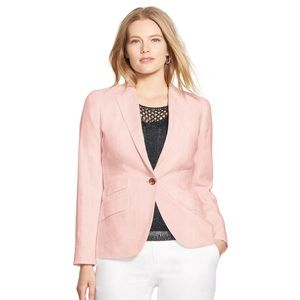 Lauren Ralph Lauren Jackets & Blazers - Ralph Lauren Wool Cashmere Pink Blazer