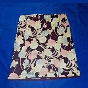 American Eagle Outfitters Dresses & Skirts - American Eagle Floral Silk Shirt NWT