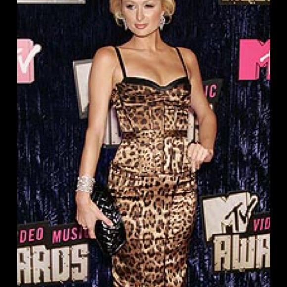 967d4b394f1b9 Dolce & Gabbana Dresses   Dolce Gabana Leopard Print Silk Corset ...