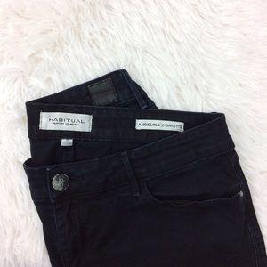 Habitual Denim - HABITUAL angelina cigarette skinny blue jeans