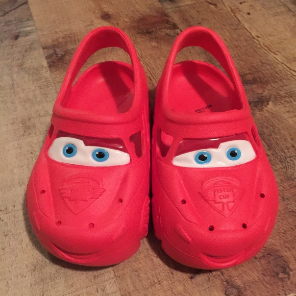 5f5146fd11a3 Disney Other - Disney Cars Croc Style Shoes