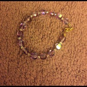 Jewelry - Purple bracelet