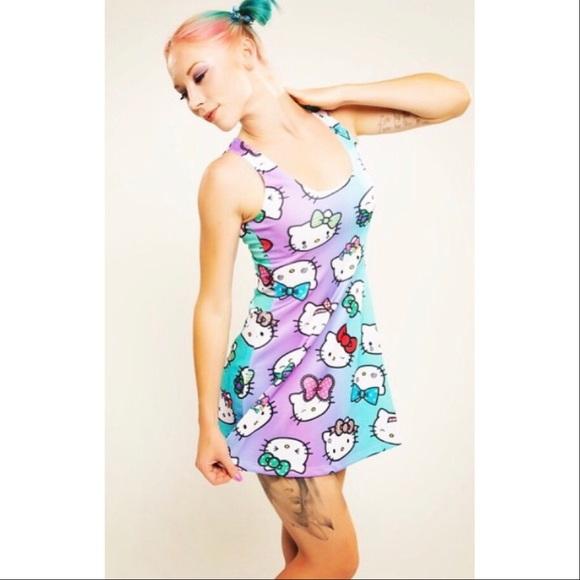 0593ab43c Hello Kitty Dresses | Mini Dress Japan La Clothing Co | Poshmark