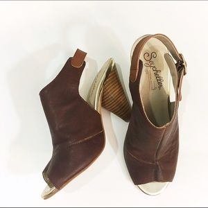 Seychelles Shoes - Seychelles special edition oxblood leather shootie