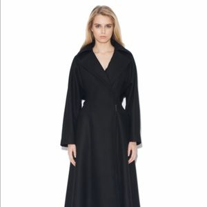 Monika Chiang Jackets & Blazers - Monika Chiang long black coat brand me with tags