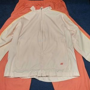 New Balance Pants - New balance jogging athletic suit jacket and pants