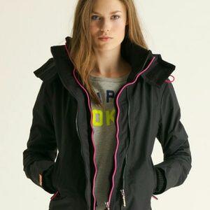 Superdry Jackets & Blazers - Superdry Pop Zip Hooded Windcheater