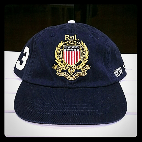29c8b454ede Polo Ralph Lauren Men s NY USA Crest Hat