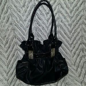 Kathy Van Zeeland Handbags - Kathy Van Zeeland Bling Black Purse ~ NWOT