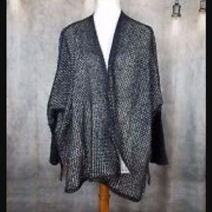Free People Sweaters - Free People Lace Trim Kimono Cardigan