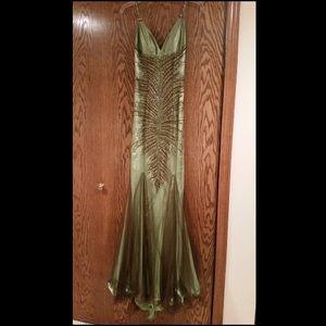 Faviana Couture Beaded Prom Dress