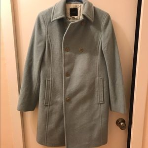 JCrew double breasted pea coat