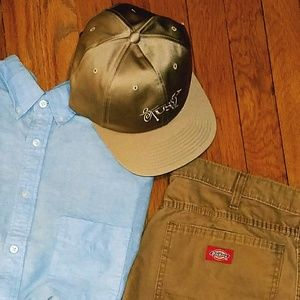 Stussy Other - NWT Gold Stussy Sateen dad Hat