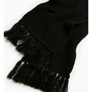 Urban Outfitters Other - Black fringe scarf
