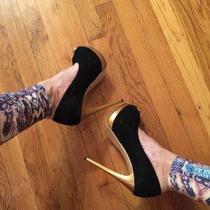 Almost new heels