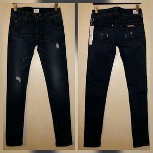 Hudson Jeans Denim - Hudson Collin Skinny Jeans in Trainer