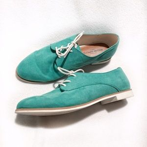 Mossimo Supply Co Shoes - 🆕Mossimo Supply Co • Teal Oxford Shoes