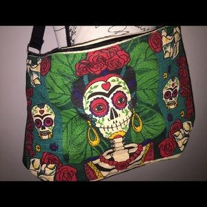 BEAUTIFUL Dia De Los Muertos Shoulder Bag/Tote.