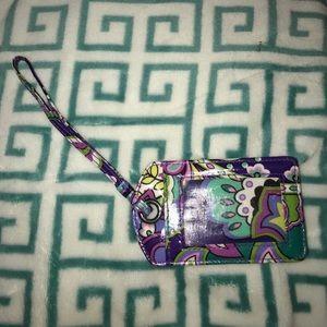 NWOT Vera Bradley Luggage Tag
