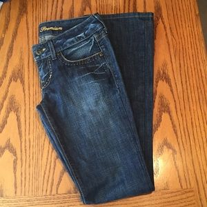 Guess premium straight leg jeans. Size 27