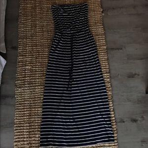 J. Crew Dresses & Skirts - J.Crew Amie Striped Maxi Dress - S