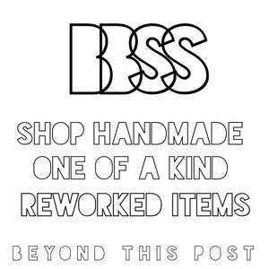 SHOP ONE OF A KIND REWORKED NEW & VINTAGE CLOTHING
