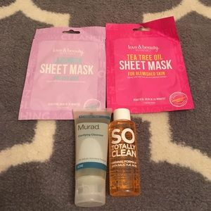 Fresh and Clean face care lot