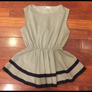 Urban Outfitters Tops - Adorable striped peplum top