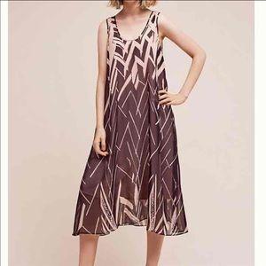 Anthropologie silk dress XXS and XS