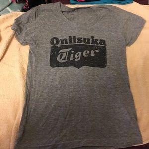 Onitsuka Tiger by Asics Tops - Asics Onitsuka Tiger Logo T-shirt