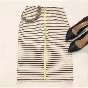 Bar III Dresses & Skirts - Bar III Striped Pencil Skirt