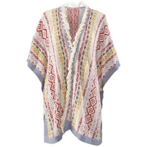 71% off CAbi Sweaters - Cabi Siesta Poncho - Size XS/S ❤ from ...