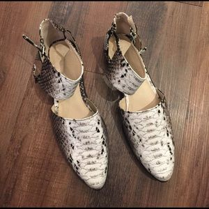 ASOS Snake Print Pointed Shoes