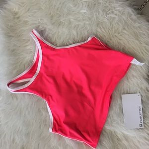Fabletics Other - NWT Bright Pink Halter Moorea Fabletics Sports Bra