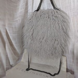 Stella McCartney Handbags - Stella McCartney Falabella Baby Faux Fur Tote