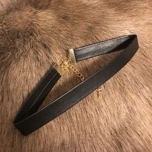 Zara Accessories - Leather Choker