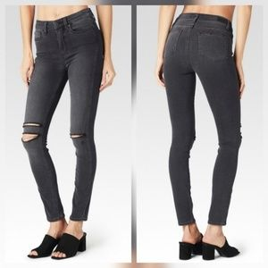 Paige Jeans Denim - Paige Hoxton Ankle High Rise Skinny Stretch Jeans