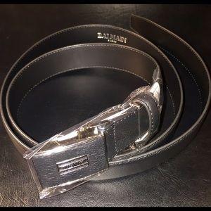 Balmain Other - $$$ Brand new black leather Balmain belt.