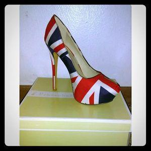 Shoes - 🇬🇧 FLAG PRINT SHOES 🇬🇧