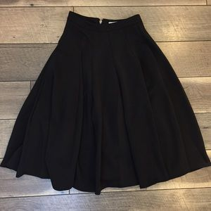 39216fa9bf Lover's Leap Boutique Skirts - LIQUIDATION Full Black Swing Scuba Skirt