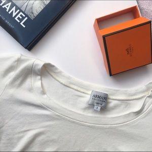 Armani Collezioni Tops - {Armani Collezioni} Half Sleeve Core Tee