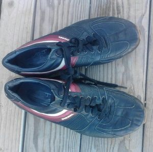 Diesel Shoes - Diesel leather shoes sneaker style