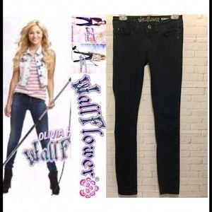 Wallflower Denim - Wallflower women's juniors 1 blue jeans skinny