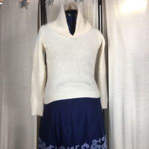 Rafaella Petite P Rabbit & Lambswool Sweater