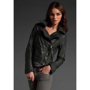 Muubaa Jackets & Blazers - Muubaa xs xxs clove bomber leather jacket 0 2